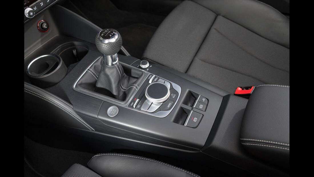 Audi A3 Cabrio 1.8 TFSI, Schalthebel