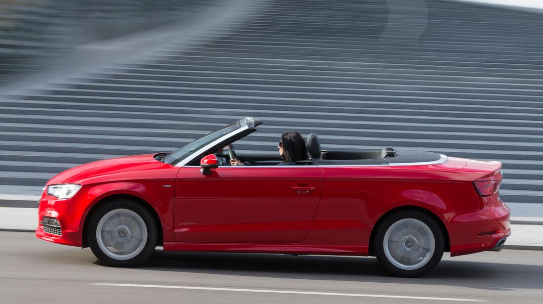 Audi A3 Cabrio 1.8 TFSI, Seitenansicht