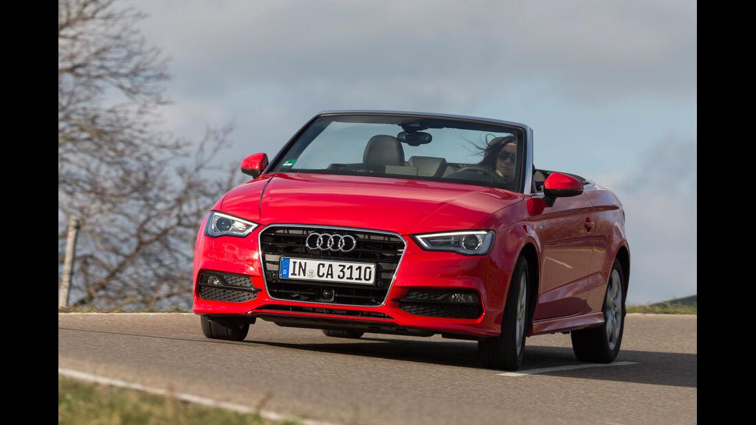 Audi A3 Cabrio, Frontansicht