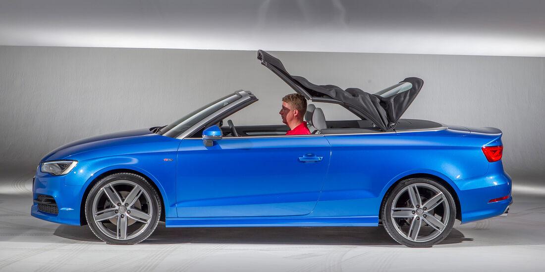 Audi A3 Cabrio, Seitenansicht