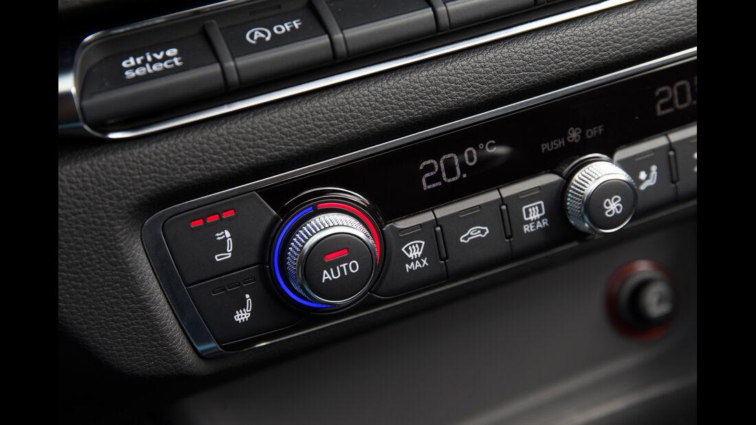 Audi A3 Cabriolet 1.4 TFSI, Klimaregler