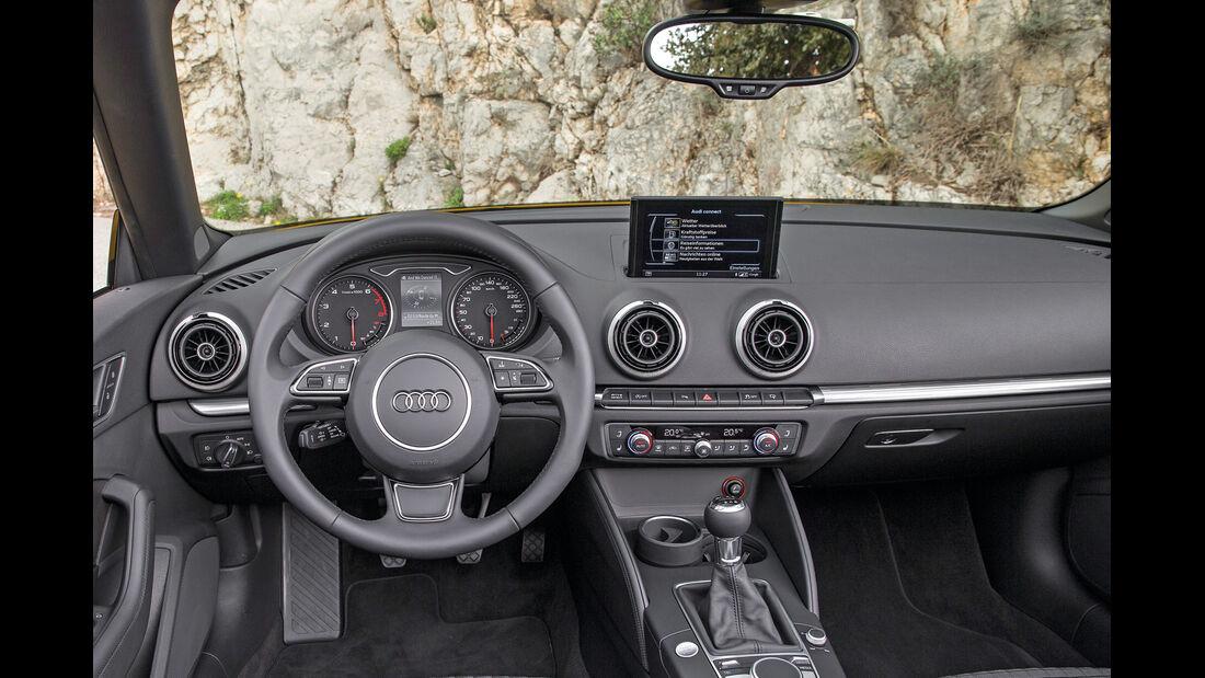 Audi A3 Cabriolet, Cockpit