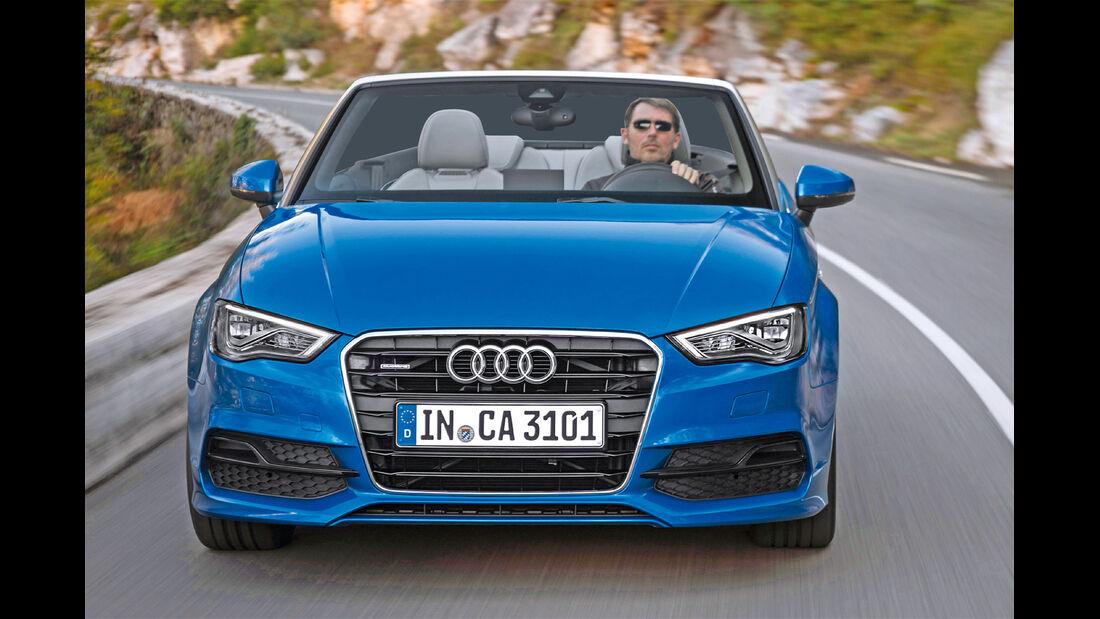 Audi A3 Cabriolet, Frontansicht