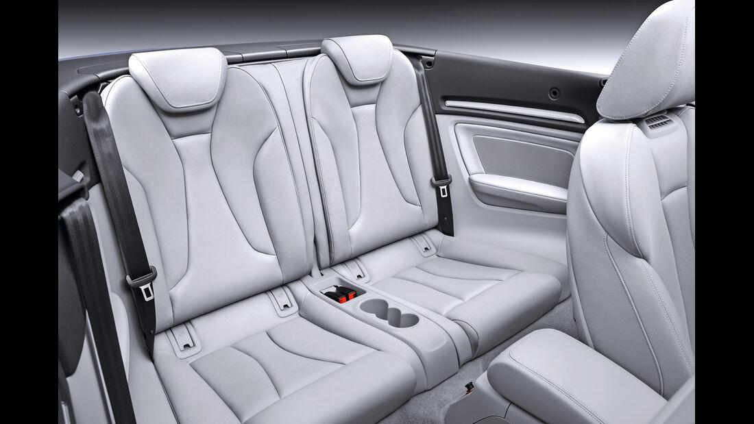 Audi A3 Cabriolet, Innenraum Sitze