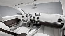 Audi A3 E-Tron Concept, Innenraum