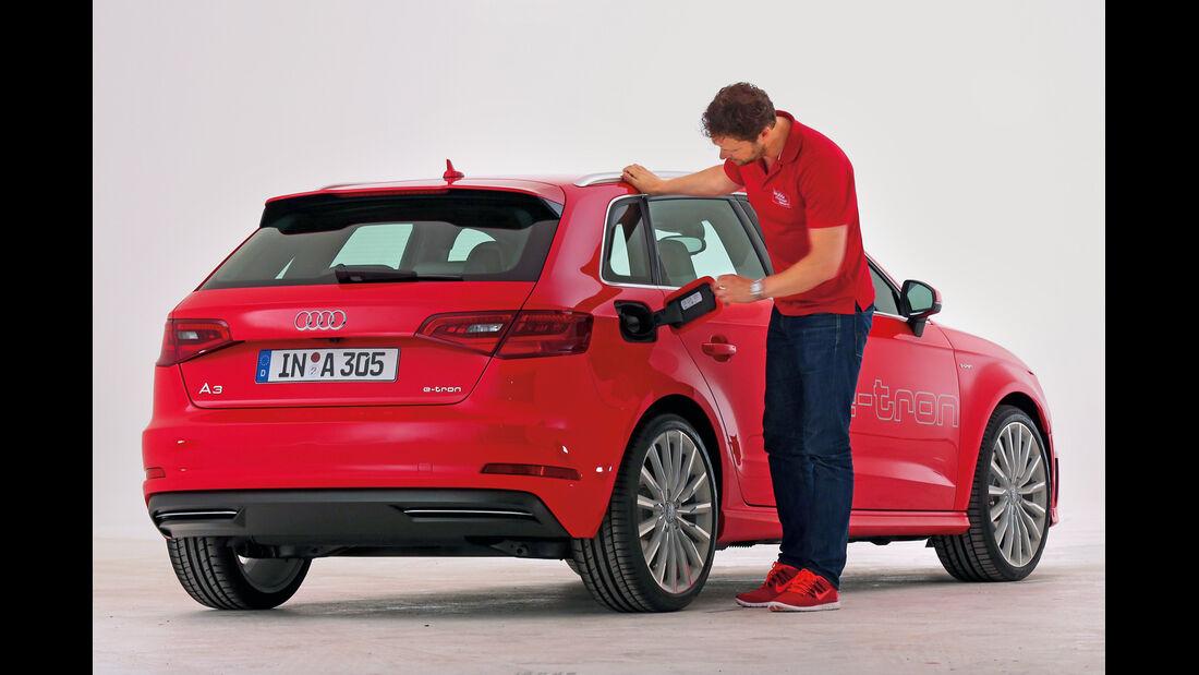 Audi A3 E-Tron, Heckansicht