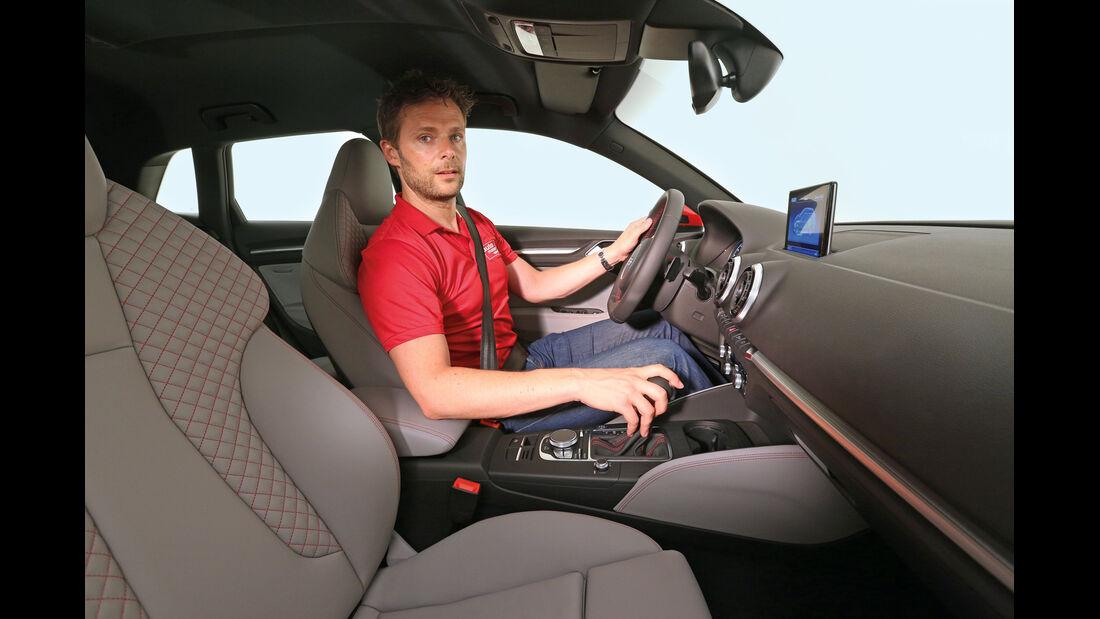 Audi A3 E-Tron, Sitze