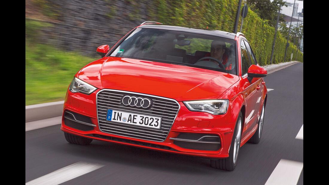 Audi A3 E-tro, Frontansicht