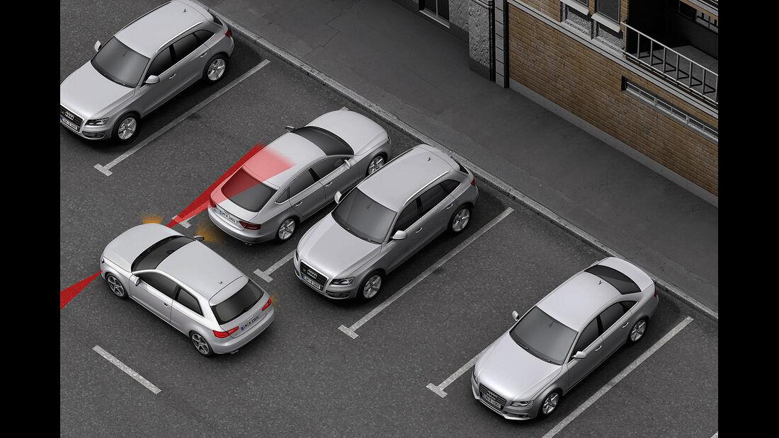 Audi A3, Einparkassistent