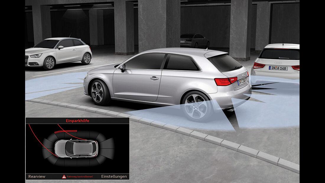 Audi A3, Einparkhilfe
