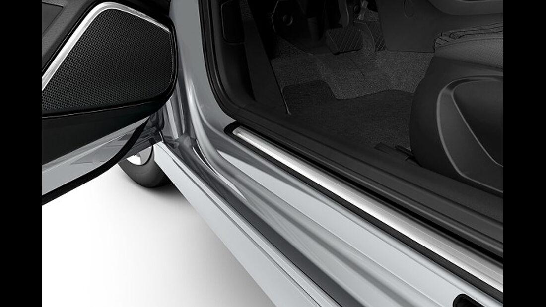 Audi A3, Einstiegsleisten