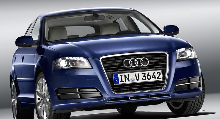 Audi A3, Facelift, Frontansicht