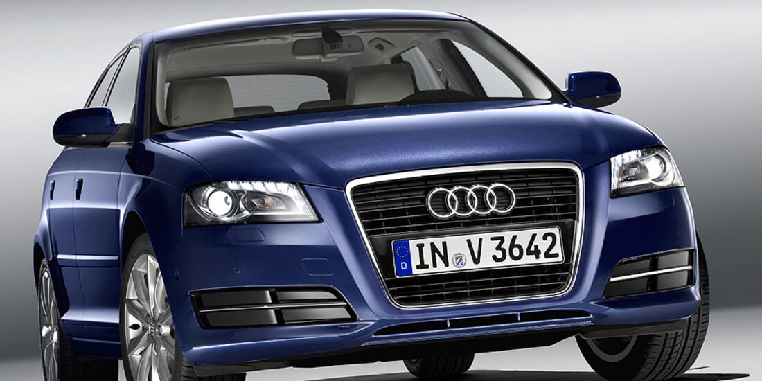 Audi A3, Facelift, Frontansicht