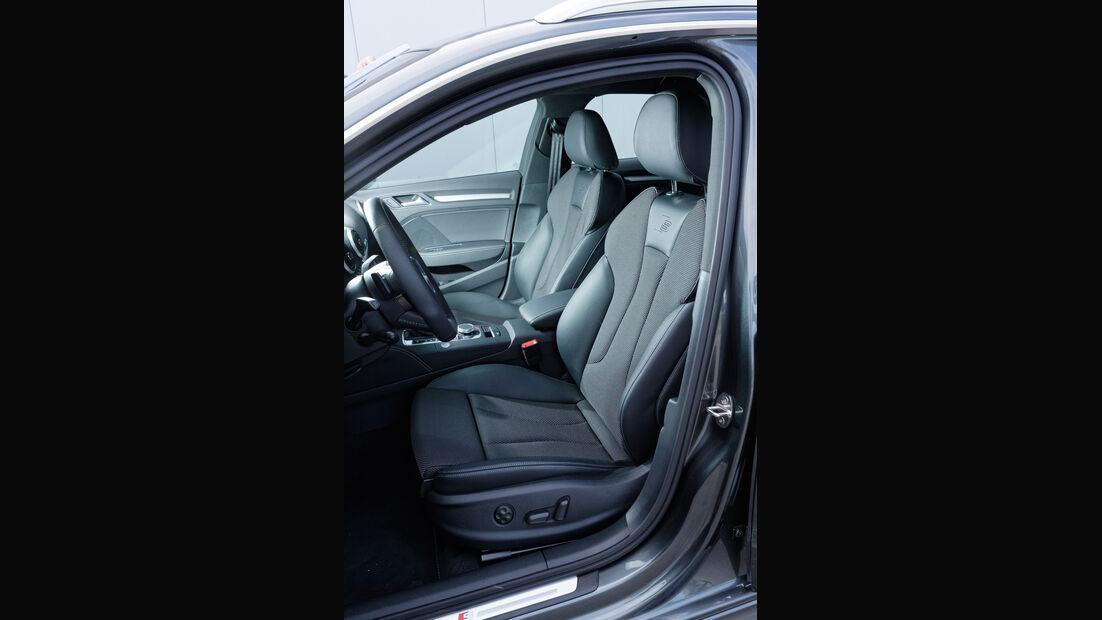 Audi A3, Fahrersitz
