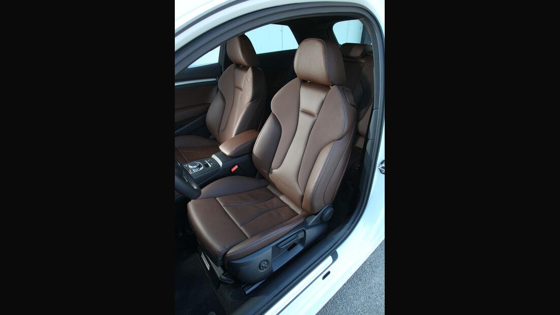 Audi A3, Fahrersitz, Ledersitz