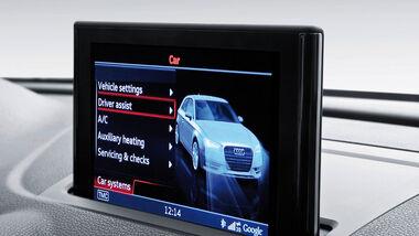 Audi A3, Fahrzeugeinstellungen
