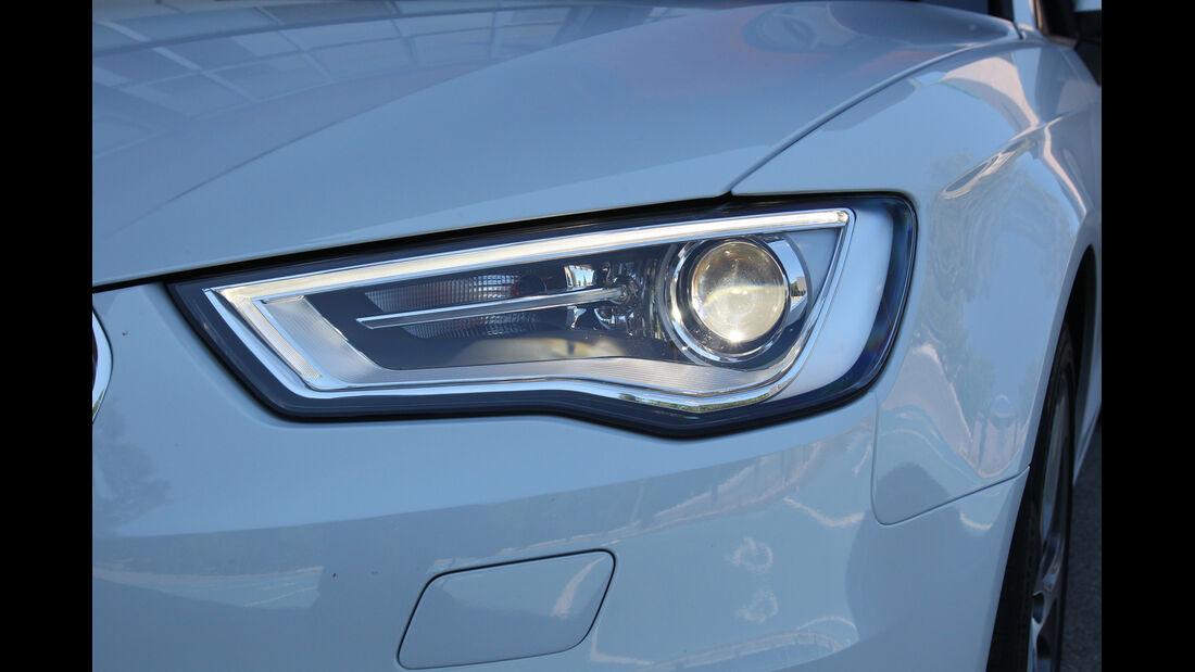 Audi A3, Frontscheinwerfer
