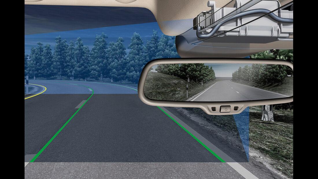 Audi A3, Gleitende Leuchtweitenregulierung
