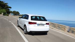Audi A3, Heck