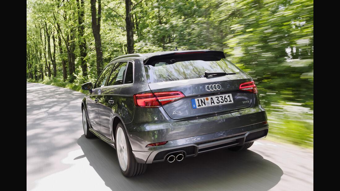 Audi A3, Heckansicht