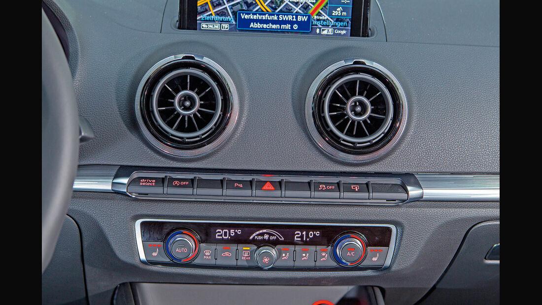 Audi A3, Heizung