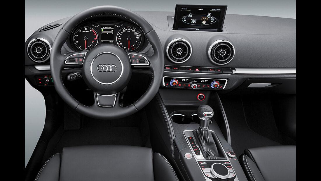 Audi A3 Innenraum, Cockpit
