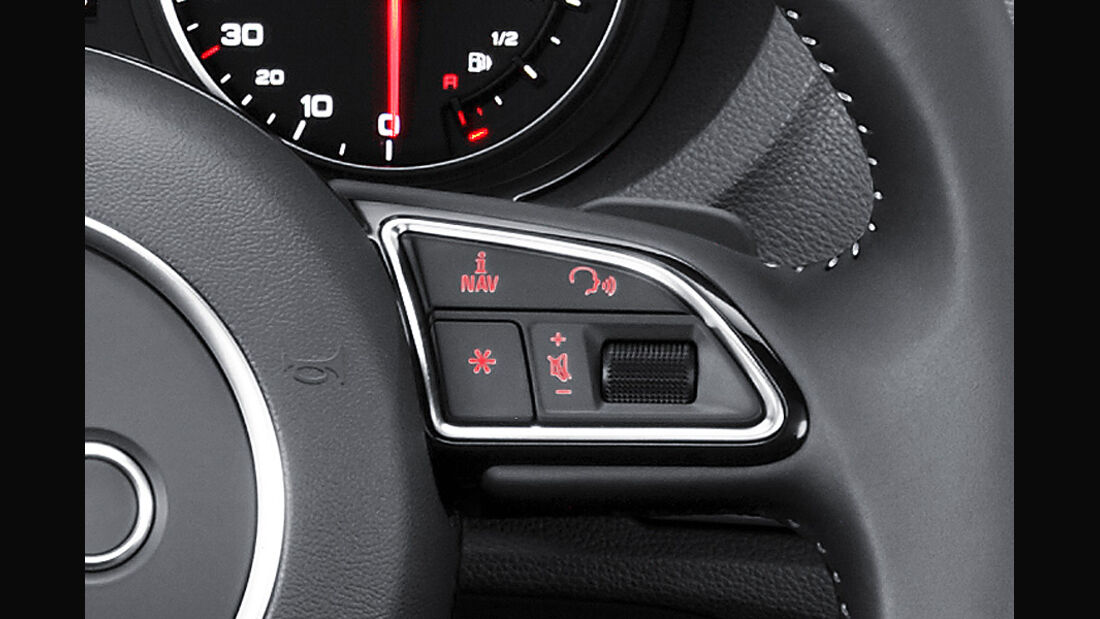 Audi A3 Innenraum, Lenkrad-Taste