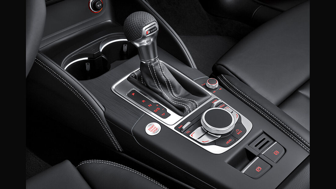 Audi A3 Innenraum, Mittelkonsole