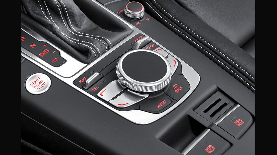Audi A3 Innenraum, Touchwheel