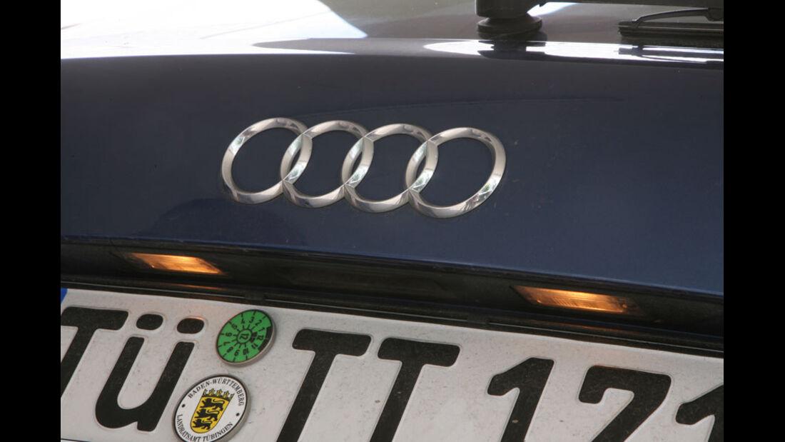 Audi A3, Kennzeichenbeleuchtung