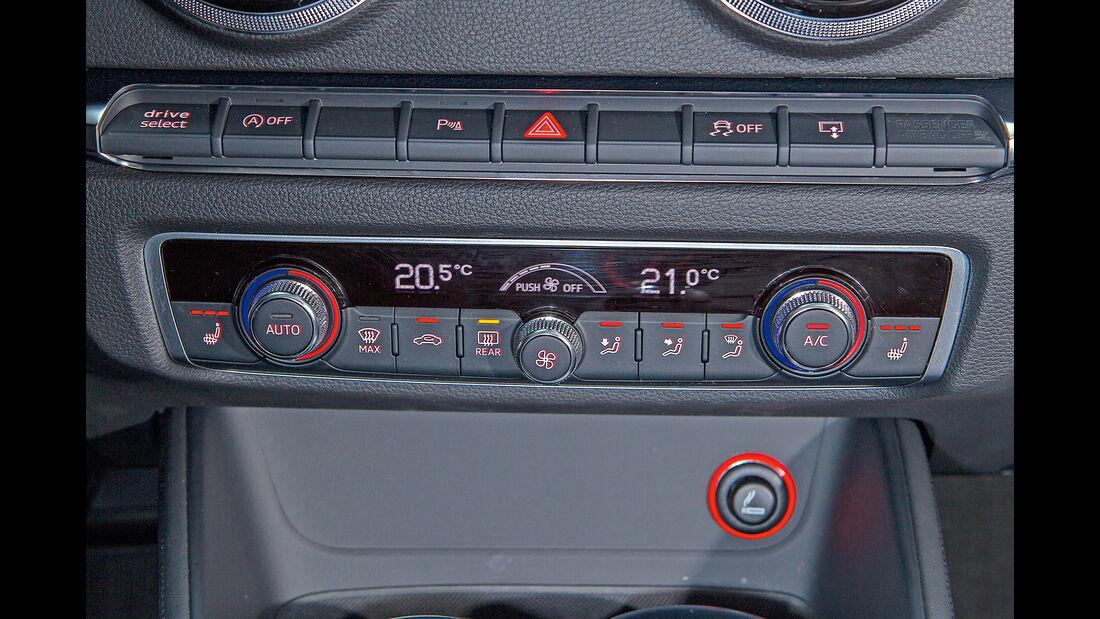 Audi A3, Klimaanlage