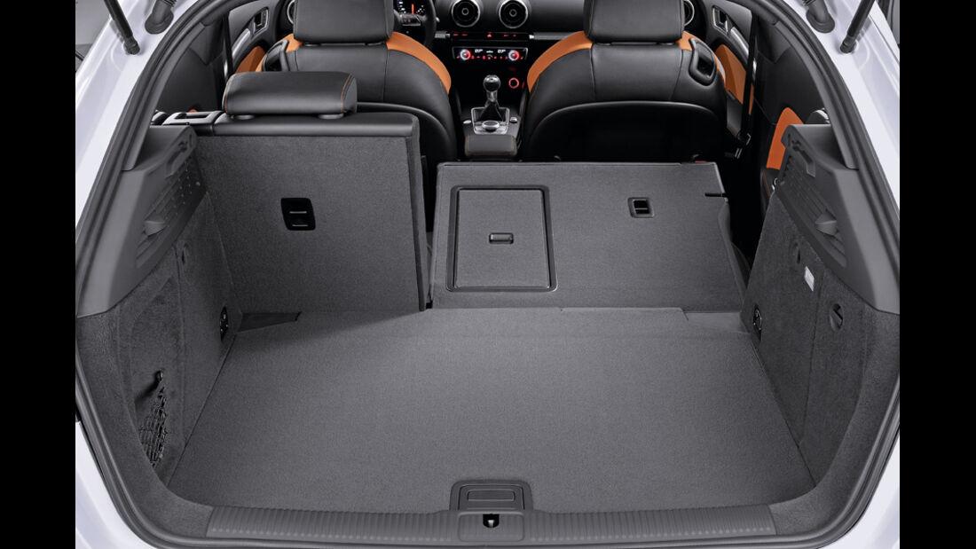 Audi A3, Kofferraum