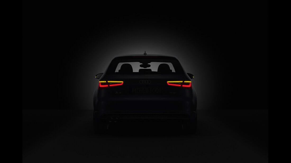 Audi A3, LED-Rücklicht