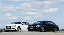 Audi A3 Limousine 1.4 TFSI, Mercedes CLA