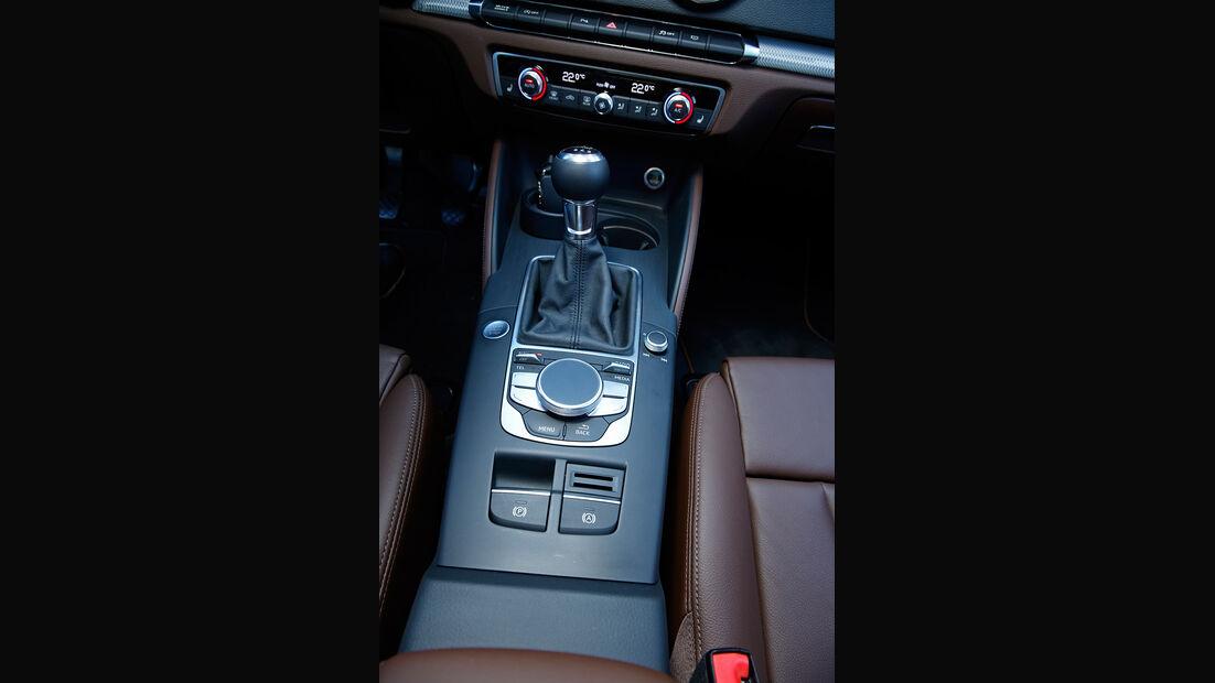 Audi A3 Limousine 1.4 TFSI, Mittelkonsole
