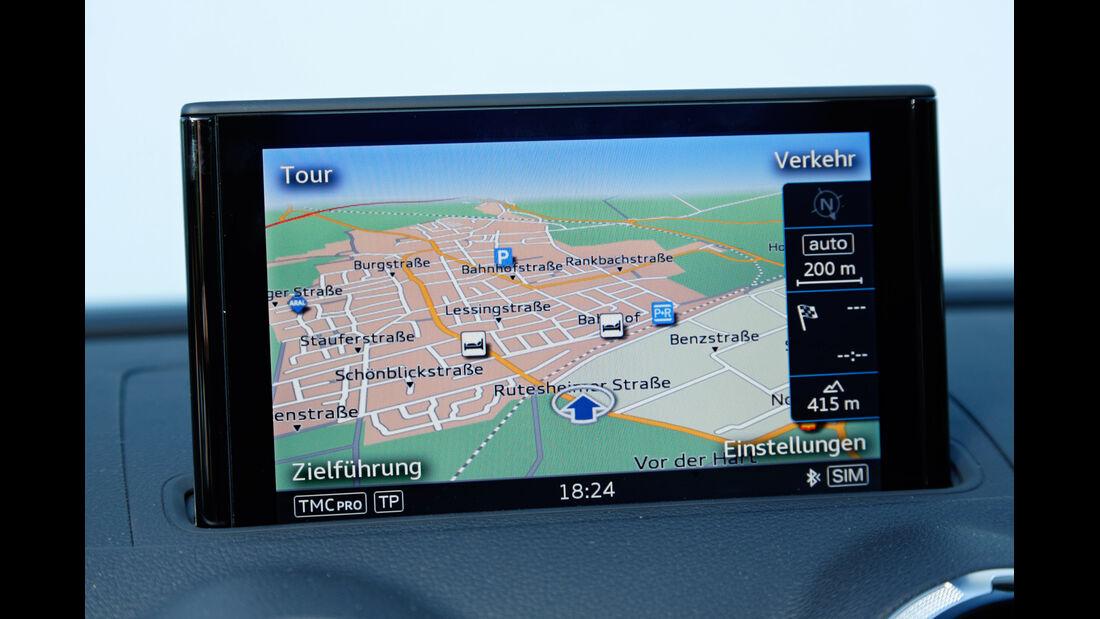 Audi A3 Limousine 1.4 TFSI, Navidisplay