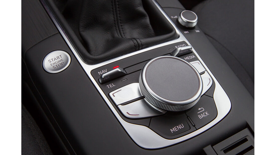 Audi A3 Limousine 1.6 TDI Ultra, Bedienelement