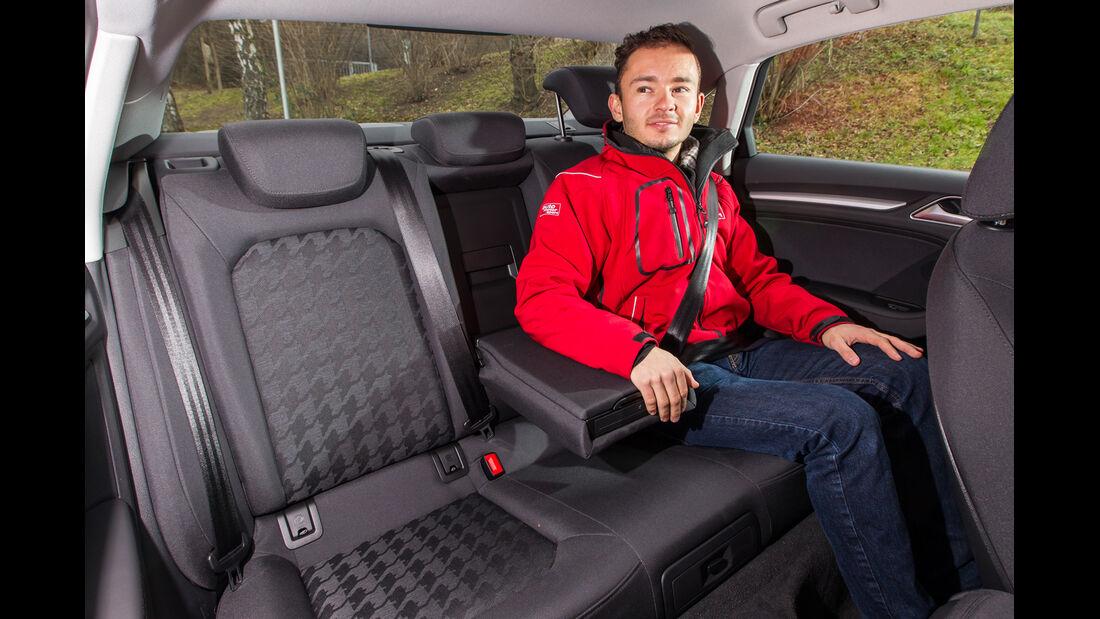 Audi A3 Limousine 1.6 TDI Ultra, Fondsitze