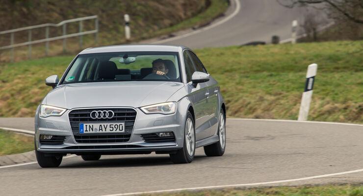 Audi A3 Limousine 1.6 TDI Ultra, Frontansicht
