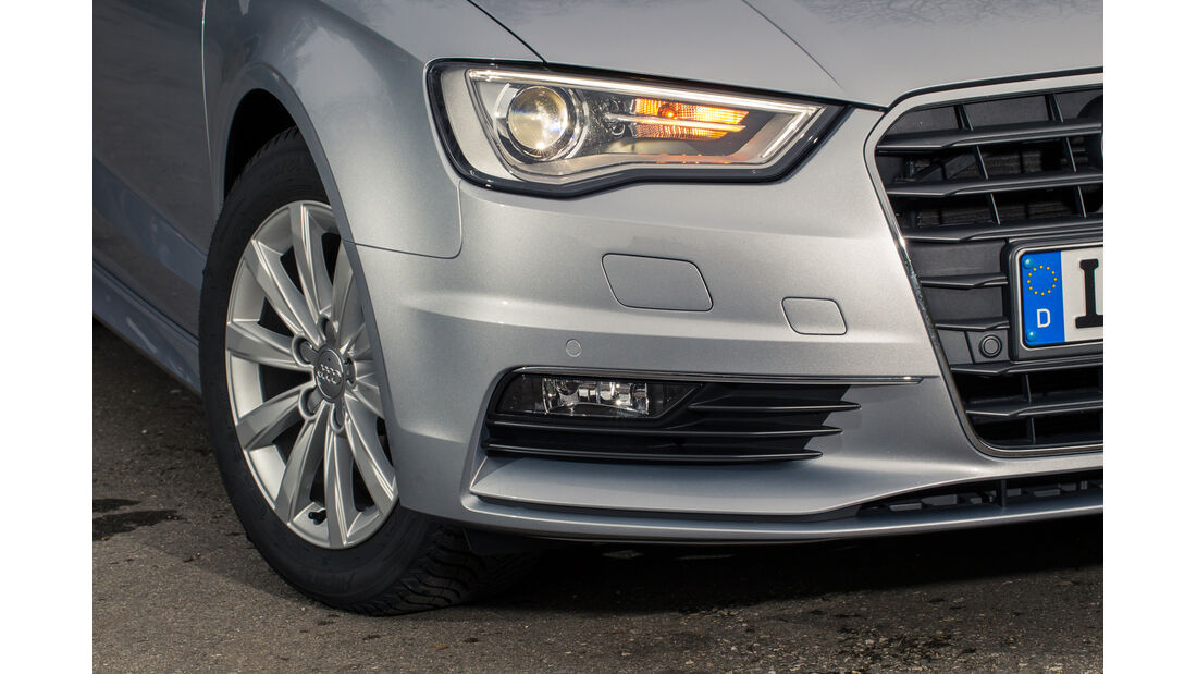 Audi A3 Limousine 1.6 TDI Ultra, Frontscheinwerfer