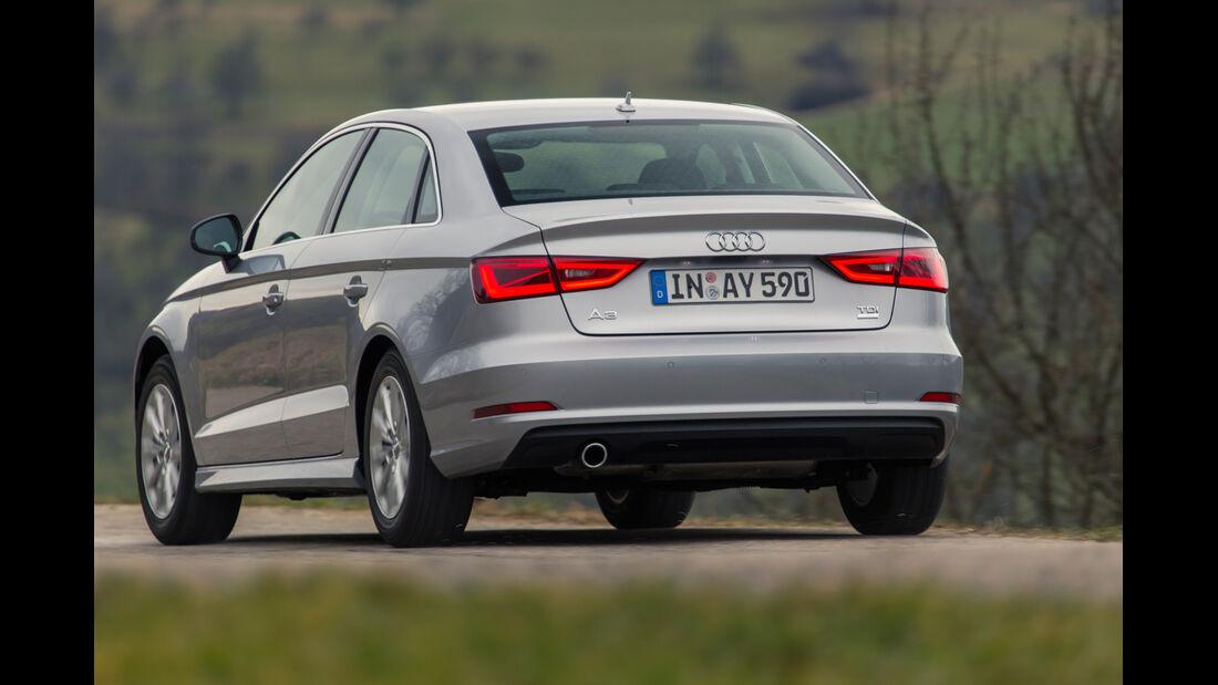 Audi A3 Limousine 1.6 TDI Ultra, Heckansicht