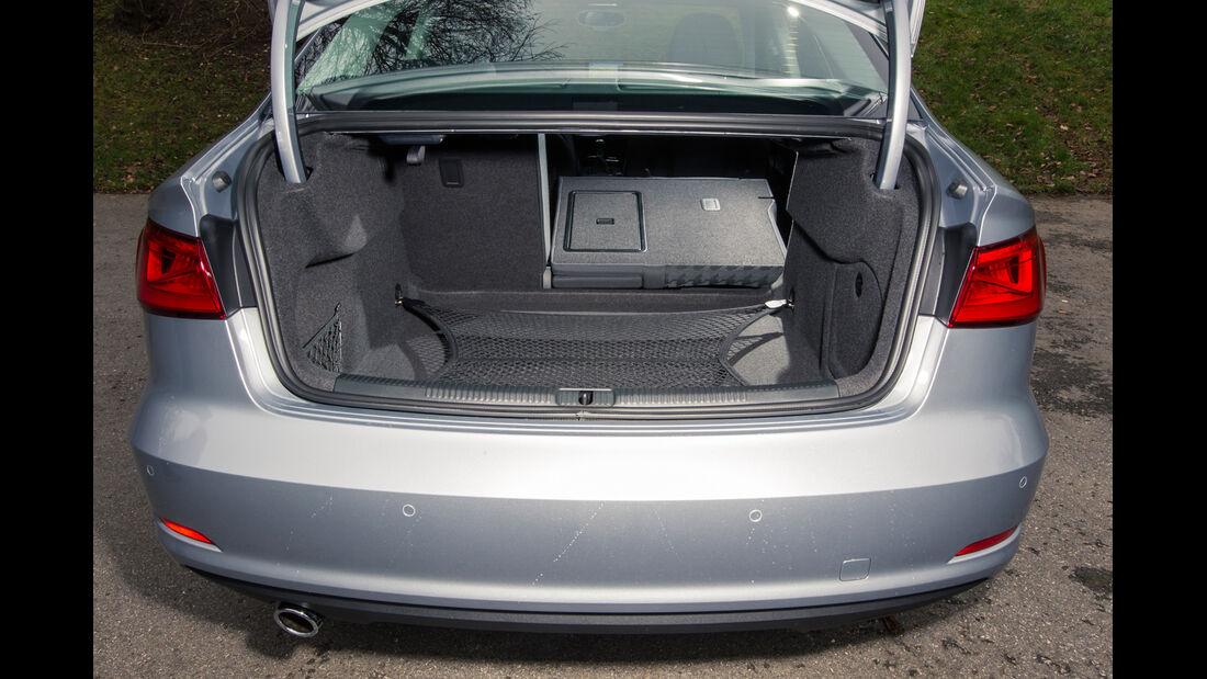 Audi A3 Limousine 1.6 TDI Ultra, Kofferraum