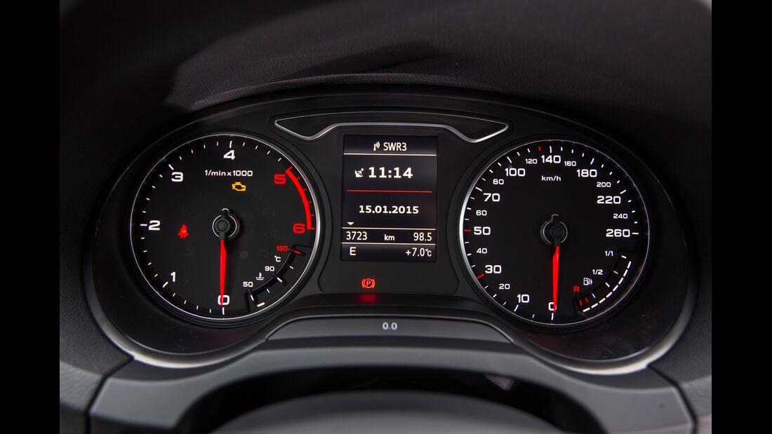 Audi A3 Limousine 1.6 TDI Ultra, Rundinstrumente
