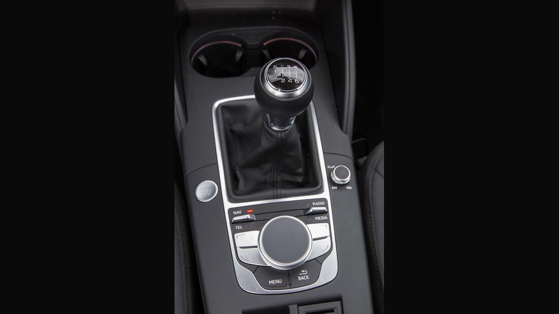 Audi A3 Limousine 1.6 TDI Ultra, Schalthebel