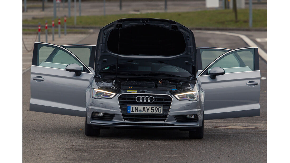 Audi A3 Limousine 1.6 TDI Ultra, Türen offen