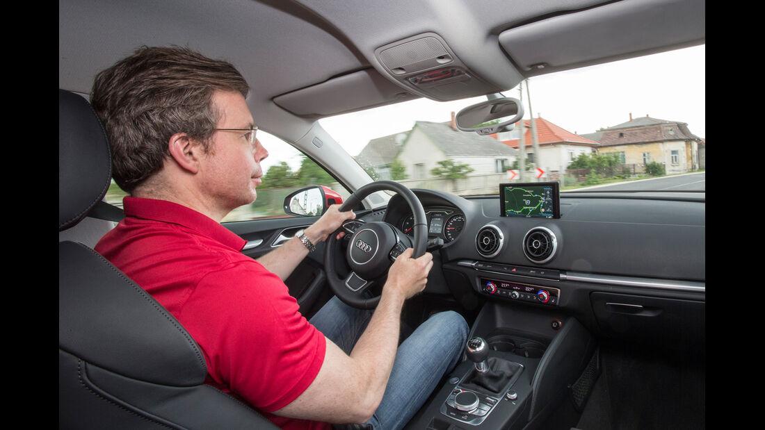 Audi A3 Limousine, Cockpit, Lenkrad