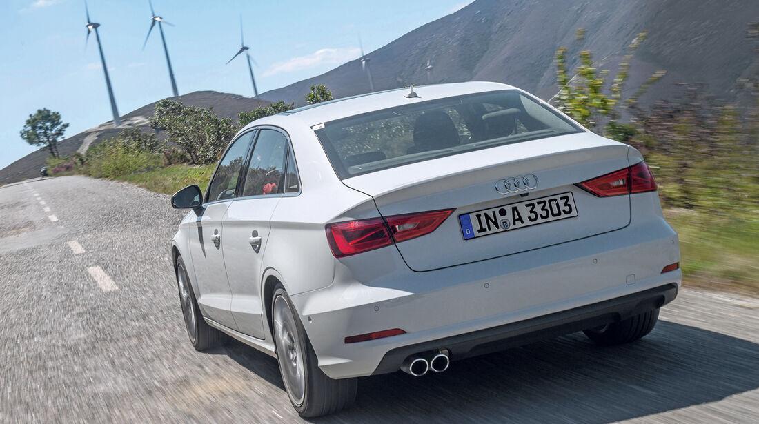 Audi A3 Limousine, Heckansicht