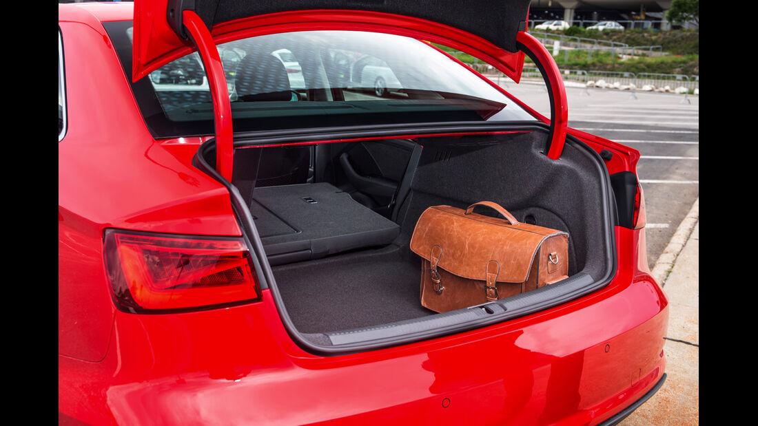 Audi A3 Limousine, Kofferraum