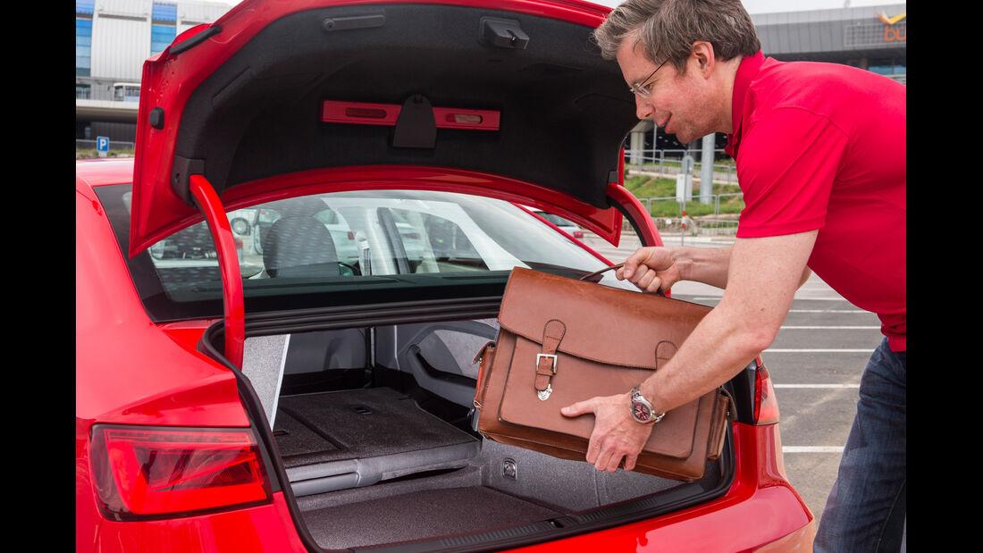 Audi A3 Limousine, Kofferraum, Dirk Gulde