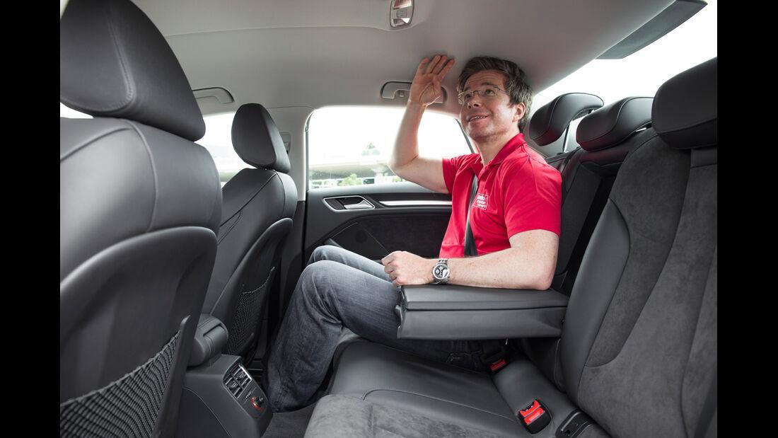 Audi A3 Limousine, Rücksitze, Fond